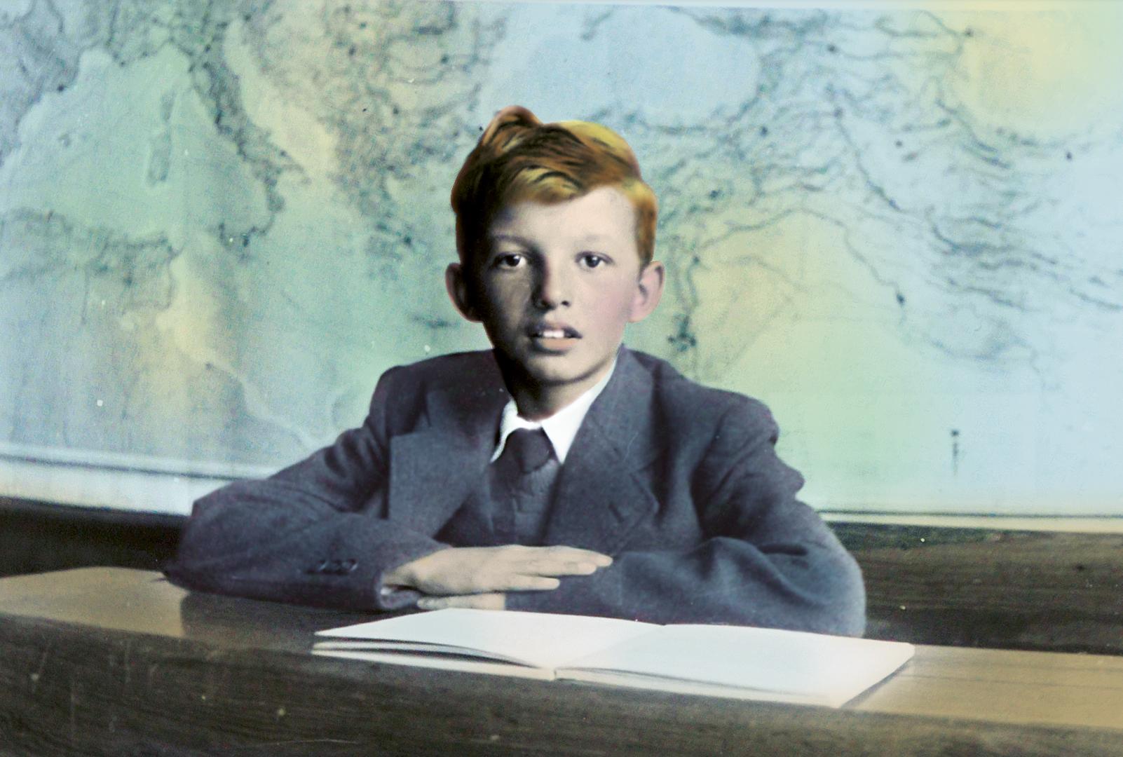 Ingekleurde foto van Aart - Wij Herdenken en Vieren